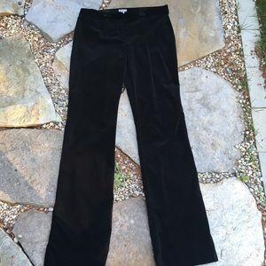 J. JILL Velvet Straight Leg Trousers Tall Length